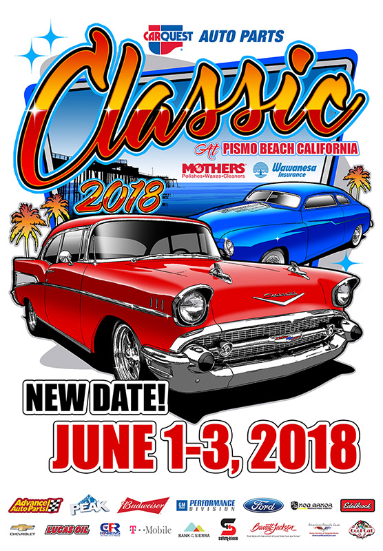 Is Officially SOLD OUT But Spaces Might Open Up The Weekend Of - Classic car show pismo beach